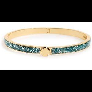 Kate Spade Glitter Bracelet Turquoise